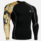 FIXGEAR CP_B32 Skin-tight Compression Shirt under training Base Layers Gym MMA