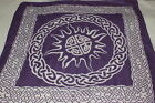 Altar Cloth Celtic Sun 26 x26 inch~Wicca~Pagan~Druid