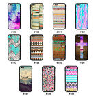 Colorful Drawing Style TPU Frame Hard Back Case Cover Skin For 4.7'' iPhone 6
