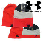 Under Armour Mens 4 in 1 Stripe Reversible Beanie Golf Winter Hat - 1248723