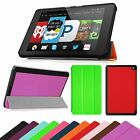 Ultra Slim SmartShell Case Leather Stand Cover Sleep/Wake for Amazon Fire HD 6""