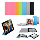 TOP QUALITY Magnetic Smart Cover Case for iPad 2 3 & New iPad 4 with Sleep Wake