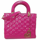 LYDC Ladies Girls Love Heart Lynsey PU Handbag/Shoulder Bag