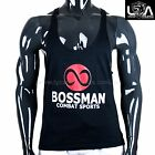 BOSSMAN COMBAT SPORTS MENS T Back Racerback Stringer Tank Top Muscle Gym Singlet
