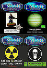 USE ME 15mm A6 Rules-Science Fiction-Starship Battles-Post Apocalyptic-Cyberpunk