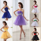 US Warehouse Short Mini  Homecoming Party Prom Dresses Gowns 2/4/6/8/10/12/14