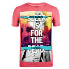 Cuckoo's Nest Men's T-Shirt Dead Sleepy Faded Red UK RRP £30