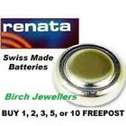 RENATA 303 SR44SW Swiss Watch Cell Battery Silver Oxide 1.55V New X 1,2,5,10