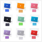 "2in1)Rubberized Hard Case Keyboard Cover Shell for Macbook Pro 13""15""inch Retina"