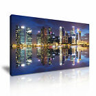 SINGAPORE 4 Cityscape Asia 1-21 Canvas Framed Printed Wall Art ~ More Size