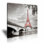 PARIS EIFFEL TOWER Canvas Framed Print ~ More Size