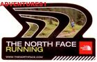 THE NORTH FACE CLOTHING/TENTS/BACKPACKS ETC BLACK LOGO & RUNNING SHOES STICKER!