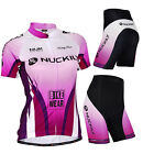 2015 NEW Cycling Women Sports girls Jersey + shorts Bike wear Clothing Size S-XL