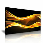 ART Abstract Smoke 3 1-21 Canvas Framed Printed Wall Art ~ More Size