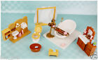 Deluxe TV/ Beach/ Bath Room Play Set Furnitures For Sylvanian Families Dolls