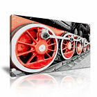 TRANSPORT Vehicle Train 2 Canvas 1-21 Framed Printed Wall Art ~ More Size