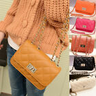 Small Handbag Wallet Purse Quilted Satchel Messenger Clutch Evening Hobo Bags