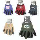 NFL Jersey Gloves with Rubber Dot Palm Grip - Assorted Play Off Teams