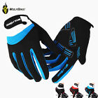 Men Full Finger Racing Motorcycle Gloves Cycling Bicycle MTB Bike Riding Gloves