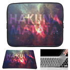 Waterproof Laptop Sleeve Case Bag + Mouse Pad+Keyboard Cover For Macbook Pro HP