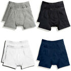 New Fruit of the Loom Mens Classic Boxer Shorts Underwear Pants 2 Pack 4 Colours