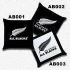 New* RUGBY ALL BLACKS NEW ZEALAND Throw Pillow Case Optional Pattern