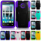 WHOLESALE LOT For Alcatel One Touch Evolve 2 Hybrid Armor T-STAND Cover Case