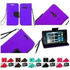 For Alcatel One Touch Evolve 2 Pixi PULSAR Premium Leather Wallet Cover Case