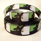 "GROSGRAIN WICKED MUSICAL GLINDA 1"" INCH RIBBON FOR HAIR BOWS DIY CRAFTS"