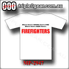FIREFIGHTERS BEER T SHIRT 100% cotton