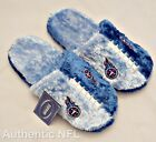 NFL AUTHENTIC TENNESSEE TITANS, FAN FAVORITE FUZZY TEXTURE, SOFT SOLE SLIPPER $9.99 USD on eBay