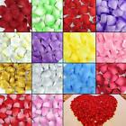 Multicolor Silk Rose Flower Petals For Wedding Party Floral Confetti Decor