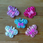 Padded Sequin Butterfly - Applique - Topper - Wedding - Sewing - Embellishments