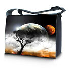 17 17.3 16 inch Laptop Computer Padded Compartment Shoulder Strap Messenger Bag