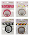 "Queen & Co Trendy Washi Paper Tape Choice of Girl & Magic Designs 1/2"" x 10 Yds"