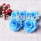 Artificial Silk Flower Roses Heads Wedding Arch Floral Decor Wholesale Lots 8cm