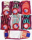 SET - 3pcs Striped Diapers Dog Male Boy BELLY BAND For Small Dogs XXS /XS /S / M /L