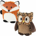 Intelex Hooty New Fully Microwavable Soft Plush Heatable Cuddly Hot Water Bottle