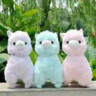"Large 19"" 13"" Basic Amuse Arpakasso Alpacasso Alpaca Llama Plush toy dolls zl"