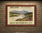 Great Southern Railways - Ireland #4 - Reproduction Vintage Travel Poster