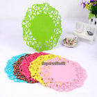 1Pcs Silicone Trivet Table Heat Resistant Mat Dish Coaster Drink Placemat Mat