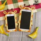 Kawaii 3D Cartoon Giraffe Silicone All-around Protect Case For iPhone6/6s/6P/6sP