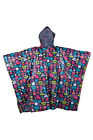 Poncho Mens Womens Unisex Patterned Waterproof Pakka Jacket Rain Coat Anorak Dry