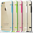 """Transparent Silicone Bumper Case Covers Screen Protector for iPhone 6 plus 5.5"""""""