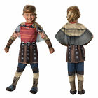 Girls Astrid How To Train Your Dragon Rubies New Kids Fancy Dress Costume Outfit