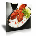 INDIAN FOOD 7 Asian Food & Drink 1S Canvas Framed Printed Wall Art ~ More Size