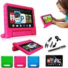 6in1 Bundle Kids Safe Shock Proof Handle Foam Case Cover for Amazon Fire HD 6""