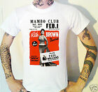 Ruth Brown Gig Poster T-Shirt Vintage Mambo Club Queen of R&B
