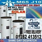 Solar Unvented direct indirect mains pressure stainless water boiler cylinder