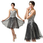 Short Prom Dresses Homecoming Graduation Gowns Party Evening Plus Size Dress 4 6